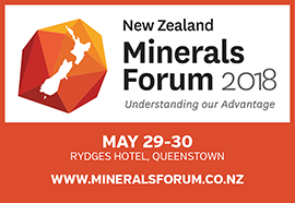 new zealand minerals forum 2018 logo